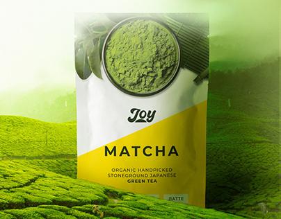 Joy Matcha Packaging