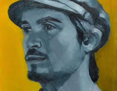 """Drew"", 8""x10"", oil on canvas"