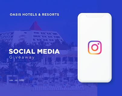 OASIS HOTELS & RESORT / GIVEAWAY