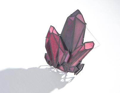 Polycrystalline Brooch