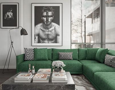 Living Room for a Fashion Photographer
