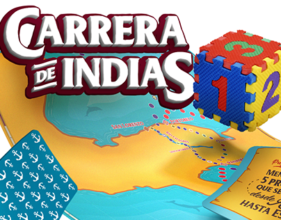 Carrera de Indias Board Game