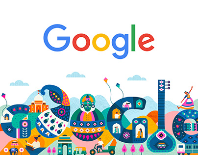 Google Doodle / Republic Day 2020 - India