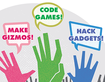 Workshop Flyer: Into tech, coding and making stuff?