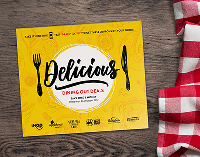 """""""Delicious"""" Casual Dining Booklet"""
