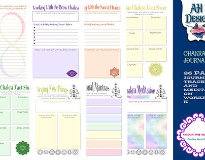 Chakra Yoga Mediation Journal Workbook
