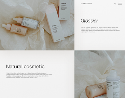 website for skincare products