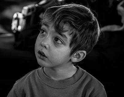 nipoti (tentativi in bianco e nero)