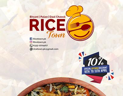 Rice Town branding
