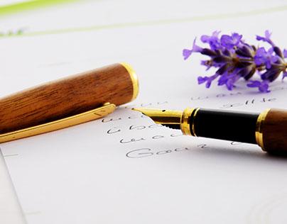 Samuel Nathan Kahn - Pen Noting On Notepad