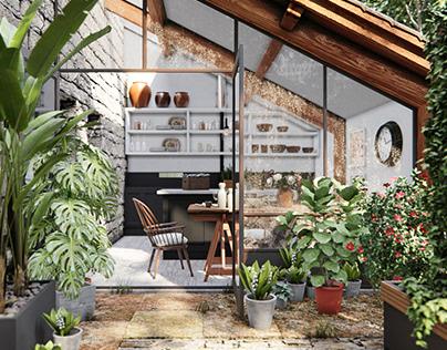 The Nice Garden - Archviz Project