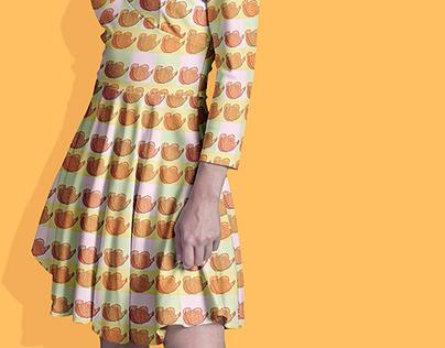 Tangerine Pattern Design