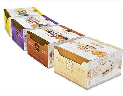 Chocorice & Almondra Packaging Design and Branding