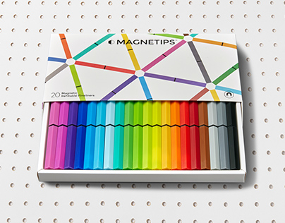Packaging design for Magnetips™