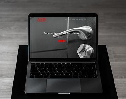 AMF Serramenti - Graphic Design - Web Design