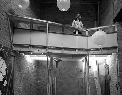 Detroit North End Artist-in-Residence Loft