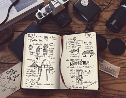 T R A V E L J O U R N A L / Indonesia Sketchbook