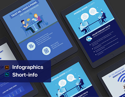 One-Page Short Infographic