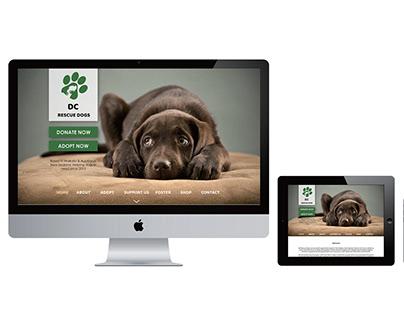 DC Rescue Dogs: App Design