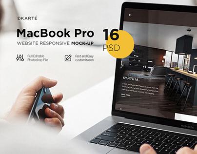 MacBook Pro Mock-Up
