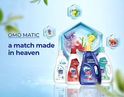 OMO Matic Wonderland Campaign