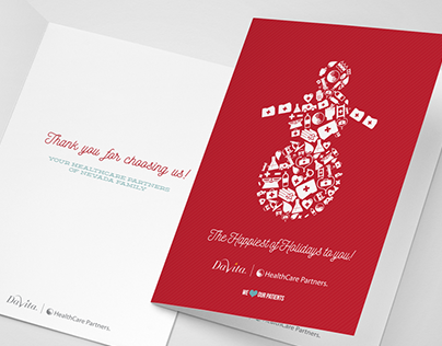 HealthCare Partners - Holiday Cards 2015