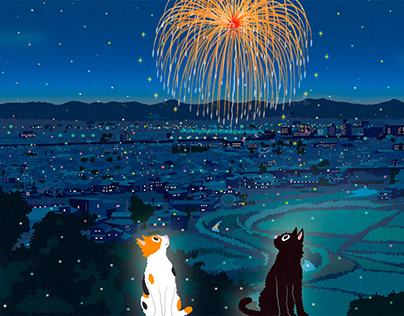 TABINEKO-Summer launch fireworks