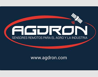 Web design: agdron.com
