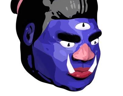 Tête Blue