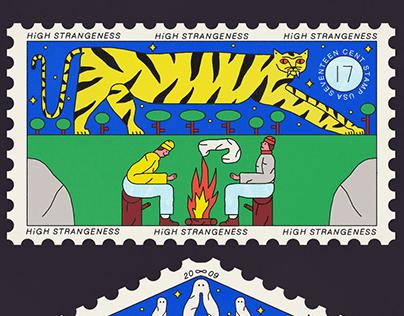 paranormal stamp series
