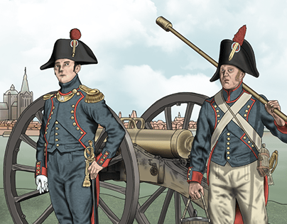 French Cannoneers 1800