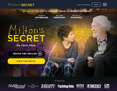 Milton's Secret movie