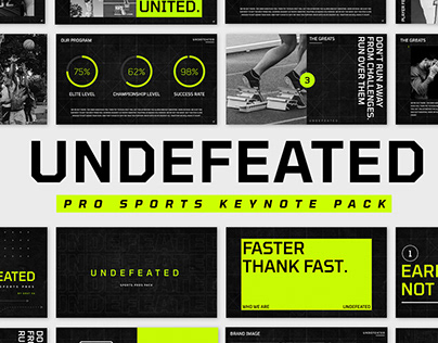 UNDEFEATED - PRO SPORTS KEYNOTE PACK
