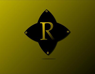 Alphabat R. Logo desgin