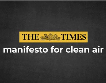 The Times Clean Air Campaign