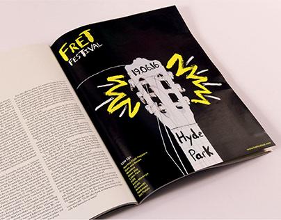 Fret Festival Branding & Advertising