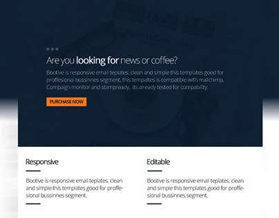 Bootive Corporate Email Templates