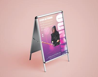 Stage femme Kendo - communication 2020