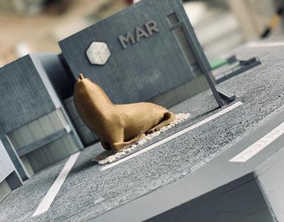 Maqueta Háptica - Museo Mar
