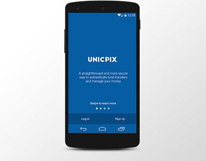 Mobile Payment App - Unicpix