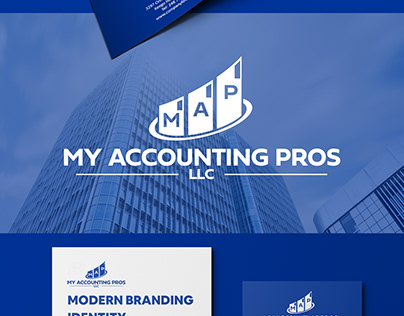 My Accounting Pros brand identity