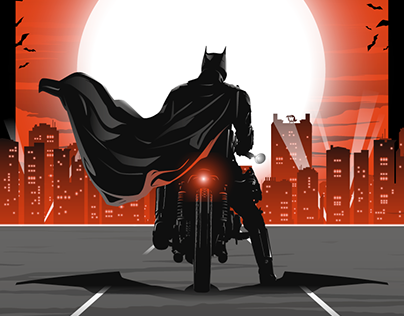 THE BATMAN Poster Art
