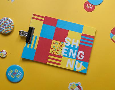 Brand identity Sheng Nu