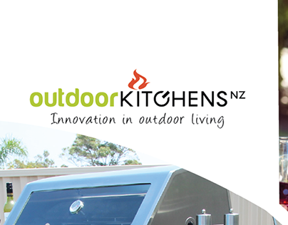 Outdoor Kitchens Logo and Literature