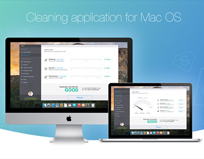 Cleaning application for Mac OS