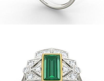 3D Jewellery render