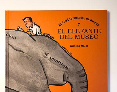 El elefante del museo, by Ximena Maier
