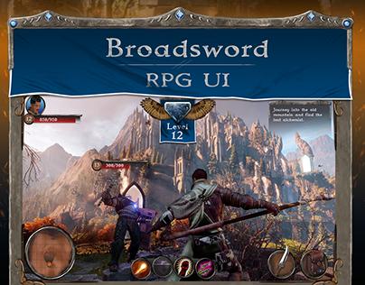 Broadsword RPG UI