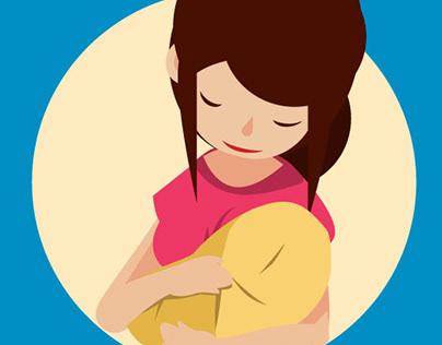 "Spots tv UNICEF ""protection maman & enfant"""