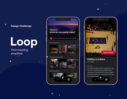 Loop: Time Travel App Design Challenge
